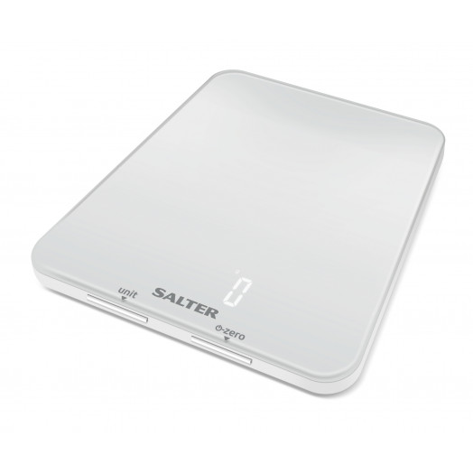 Salter Ghost Digital Kitchen Scale - White